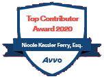 Avvo Clients' Top Contributor Award 2020